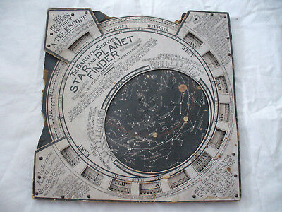 Antique, Copyrighted, 1906 The Barritt-Serviss Star and Planet Finder .