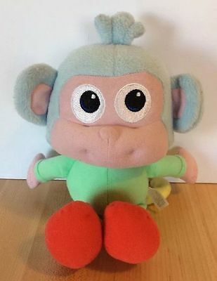 "9"" BOOTS Monkey DORA The Explorer Plush Fisher Price Stuffed Toy 2009 Mattel"