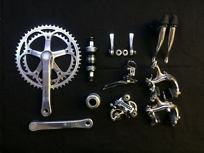Vintage Shimano Dura Ace 7400 Gruppe Groupset