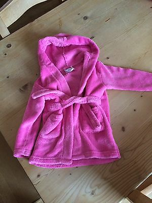 Baby Girls Dressing Gown 18-24 Months