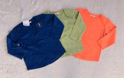 *BNWT Next baby boys Bright long sleeve tops t shirts 3 pack set 12-18 months*