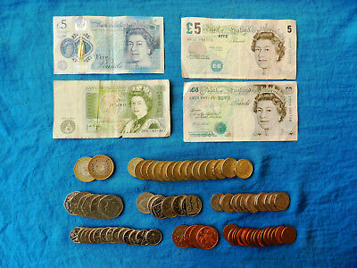 Vintage/Current Great Britain Banknotes/Coins *43 GBR* *Legal Tender/Redeemable*