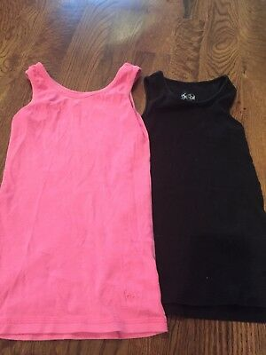 2 Pieces girls Justice Brand Tank Size 8-10