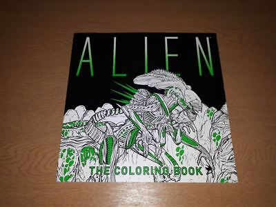 Alien The Coloring Book by Titan Books 9781785653766 (Paperback, 2017)