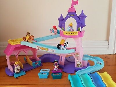 Fisher price little people disney princess horse stable