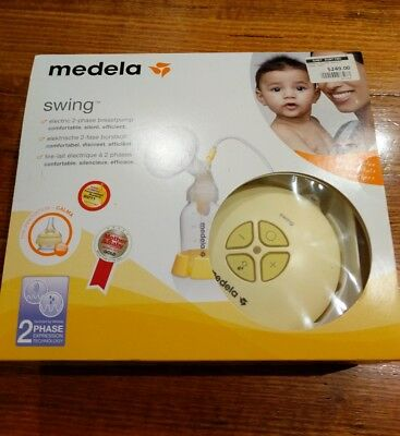 Medela Swing Electric Breast Pump with extra accessories 5% Discount!