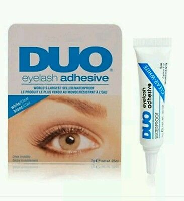 DUO EYELASH ADHESIVE  COLLA PER CIGLIA FINTE eyelash glue makeup 9 gr