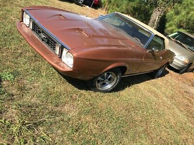 1973 Ford Mustang 1 Ford Mustang