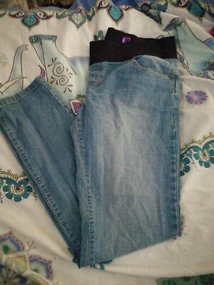 New look size 14 skinny maternity jeans