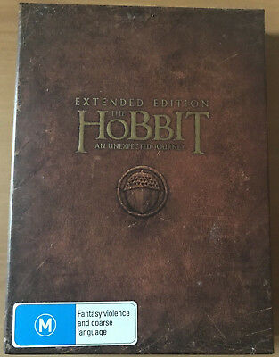 THE HOBBIT AN UNEXPECTED JOURNEY Extended Edition DVD