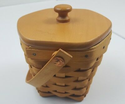 Longaberger Basket American Cancer Society Law 2001 Good Condition Dresden Ohio