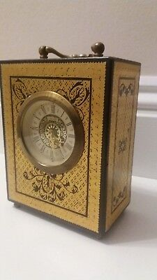 """design Philippe"" Swedish Carriage Clock.by Appointment To The Royal Court"