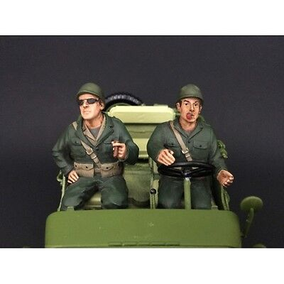 1/18 Scale figure- WWII US Army Soldiers III & IV- AD-77412&13- AMERICAN DIORAMA