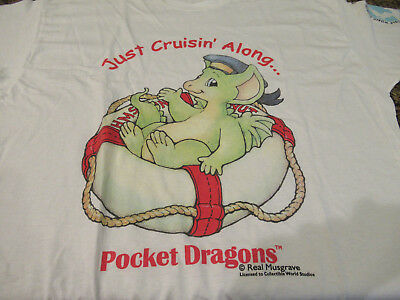 pocket dragons T-Shirt signed by Real Musgraves in 1997