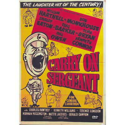 CARRY ON SERGEANT = DVD(Australian Shipping Free)