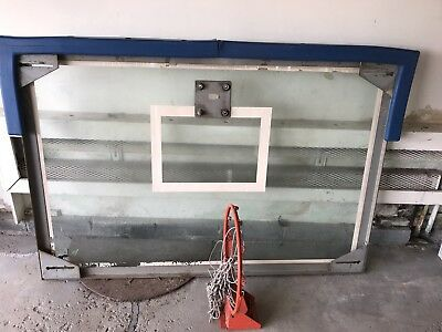 Basketball Backboard And Rim, Full Size, PICK-UP ONLY