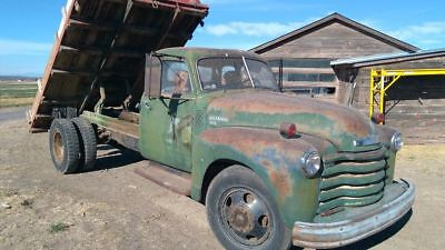 1949 Chevrolet Other Pickups  1949 Chevy 5 window truck 6400 flat bed dump