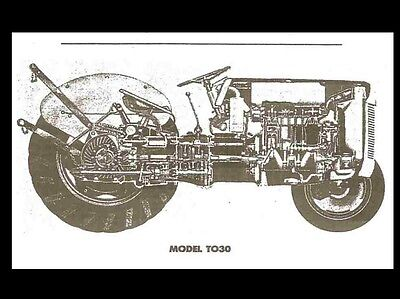 1949 fergusion to 20 tractor service manua