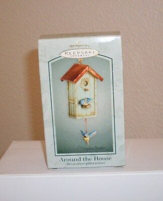 Hallmark Ornament Marjolein Bastin Around the House 2003 New with Tag Nature