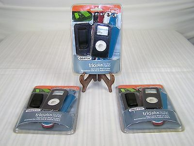 Griffin Trio Plus for Ipod Nano 3 Sets of Covers Genuine Leather