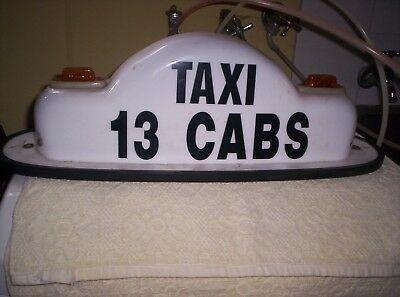 Yellow Cabs Taxi Top