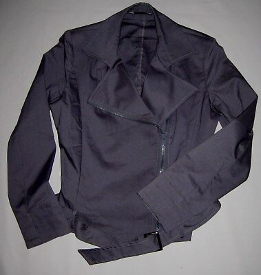 Events 2 piece dark grey suit size 2 pre-owned