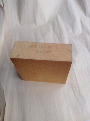 Beautiful Grain Tasmanian Huon Pine Blank Ideal For Turning, Carving, Pyrography