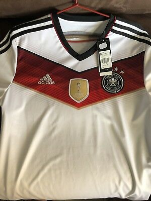 Germany Football Jersey World Cup Rare New With Tags