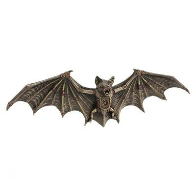 Steampunk Clockwork Bat Wall Plaque - Gothic - Steampunk