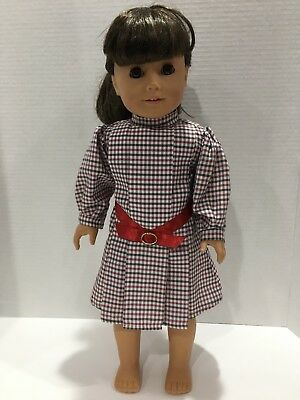"""SAMANTHA AMERICAN GIRL DOLL 18"""" PLEASANT COMPANY COLLECTION WITH Meet Dress"""
