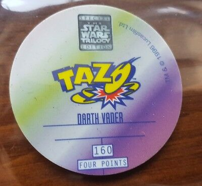 Lot of 11 star wars hollogram 3D tazos. Collectable