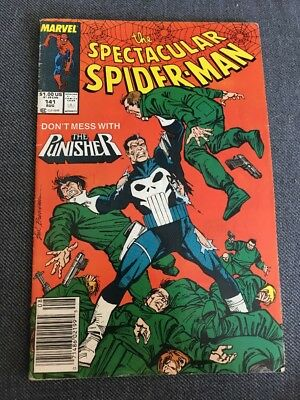 Spectacular Spider-man # 141 Marvel Comic Good Condition 1988