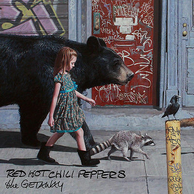 Red Hot Chili Peppers The Getaway New CD