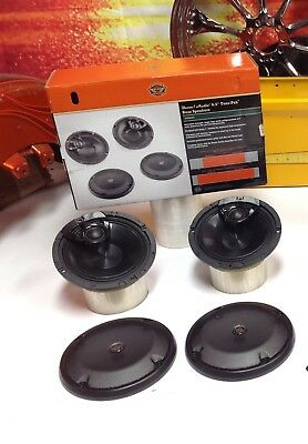 14-18 OEM Harley CVO Boom Audio Tour Pack Speakers Touring