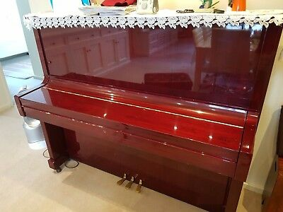 Kawai Piano BS-30 in a unique deep burgundy