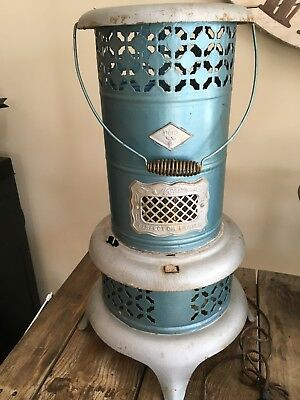 Extra Large Antique / Vintage Nesco Perfect Oil Heater - 0610