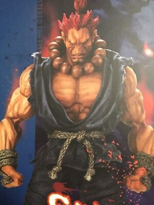 Gouki Street Fighter Statue New Sealed