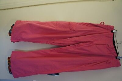 Womens Core Snow Pants Pink Small