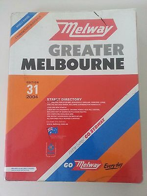 Melway - Greater Melbourne - 2004