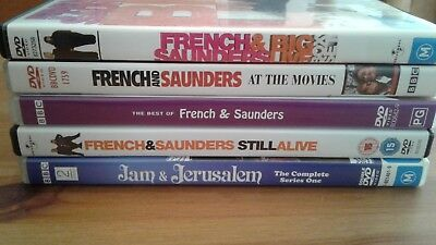 French & Saunders - 5 mixed DVDs  - BARGAIN!