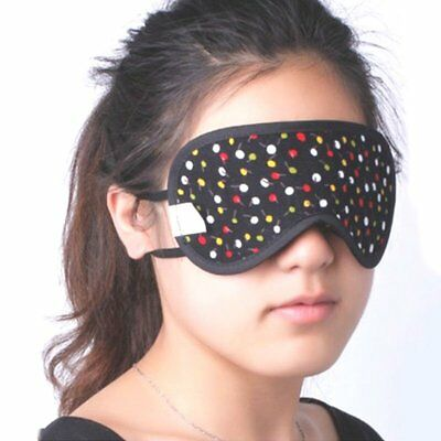 Bamboo Charcoal Eye Masks Eyeshade Blindfold Breathable Shading Accessory