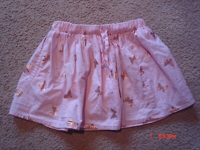 """Girls """"cotton On"""" Pink/gold Skirt ( Size 1)"""