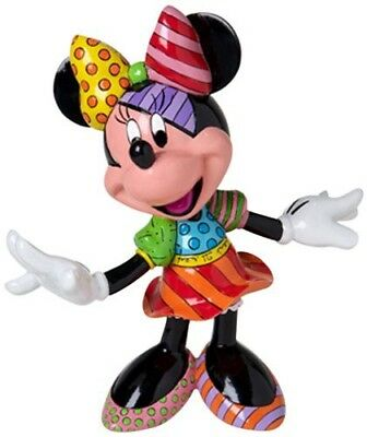 NEW Official Disney Figurine Tall Minnie Mouse Collectable Britto FREE AU POST!