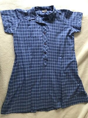 Blue school dress size 22