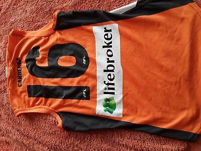 Greater Western Sydney Player Issue Guernsey Number 16 Nathan Wilson