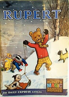 Rupert Bear The Daily Express Annual from 1967
