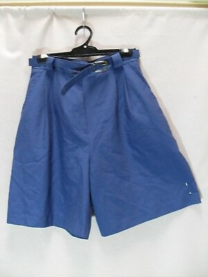 1980's Vintage Tailored shorts with Belt.