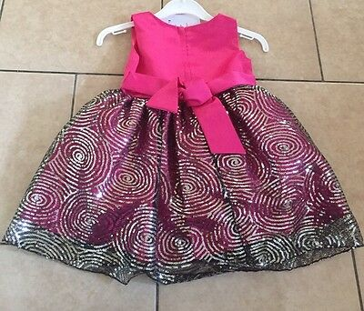 Girl Kids 2 Years Princess Party Birthday Formal Dress With Jacket Sequenced BN