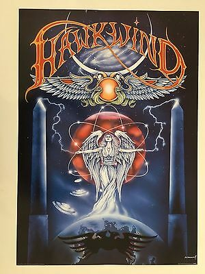 Hawkwind,by P.e Pracownik,rare Authentic 2000 Poster