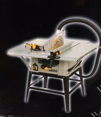Titan Table Saw TTB674TAS with additional NEW Erbauer blade